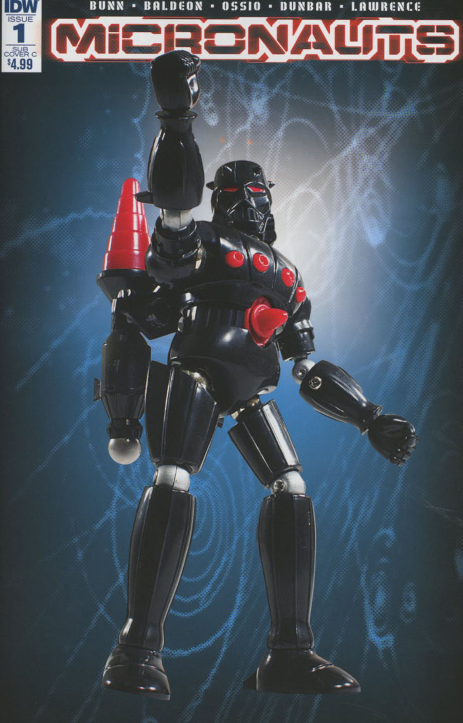 Micronauts Vol 5 #1 Cover D Variant Classic Action Figure Subscription Cover