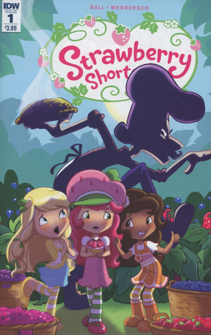 Strawberry Shortcake Vol 3 #1 Cover A Regular Amy Mebberson Cover