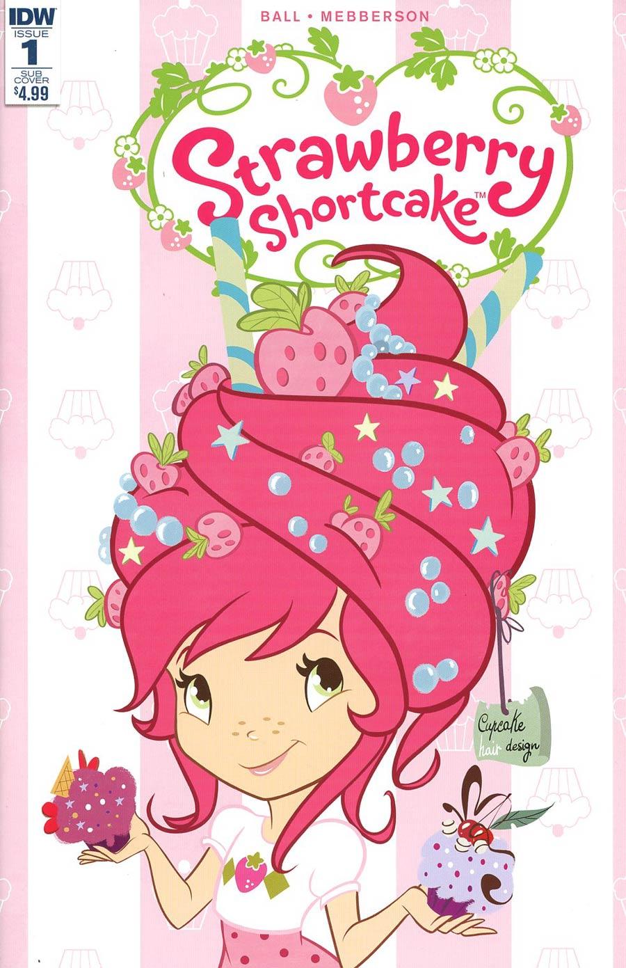 Strawberry Shortcake Vol 3 #1 Cover C Variant Nicoletta Baldari Scented Cover