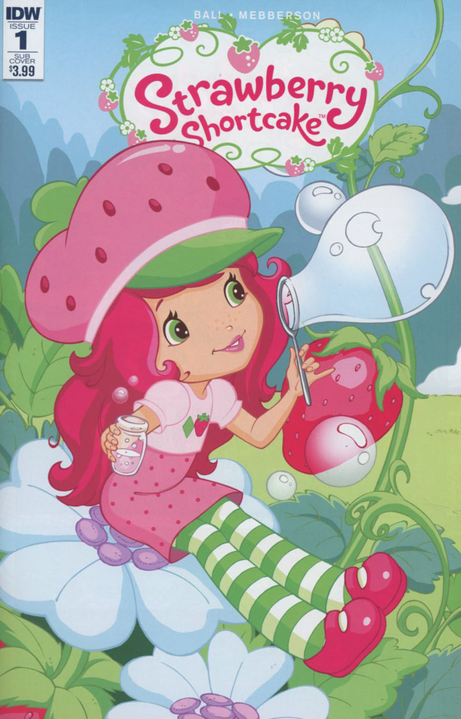 Strawberry Shortcake Vol 3 #1 Cover B Variant Tina Francisco Subscription Cover