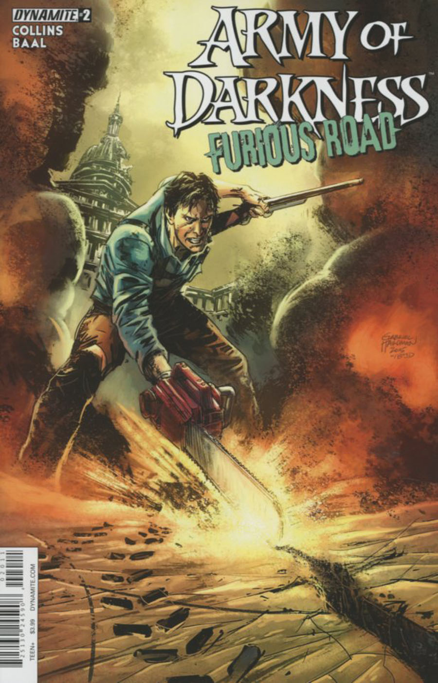 Army Of Darkness Furious Road #2 Cover A Regular Gabriel Hardman Cover