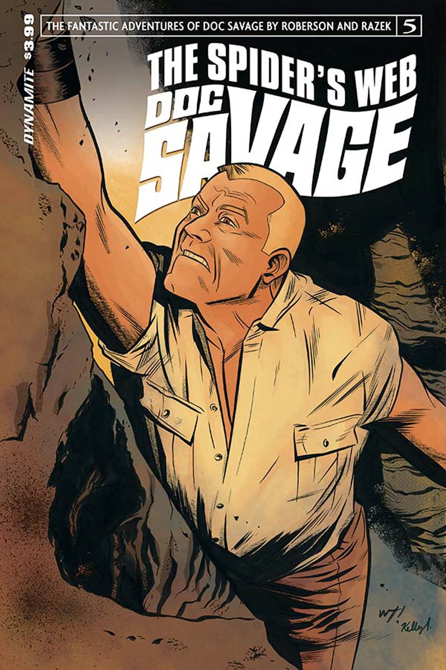 Doc Savage Spiders Web #5 Cover A Regular Wilfredo Torres Cover