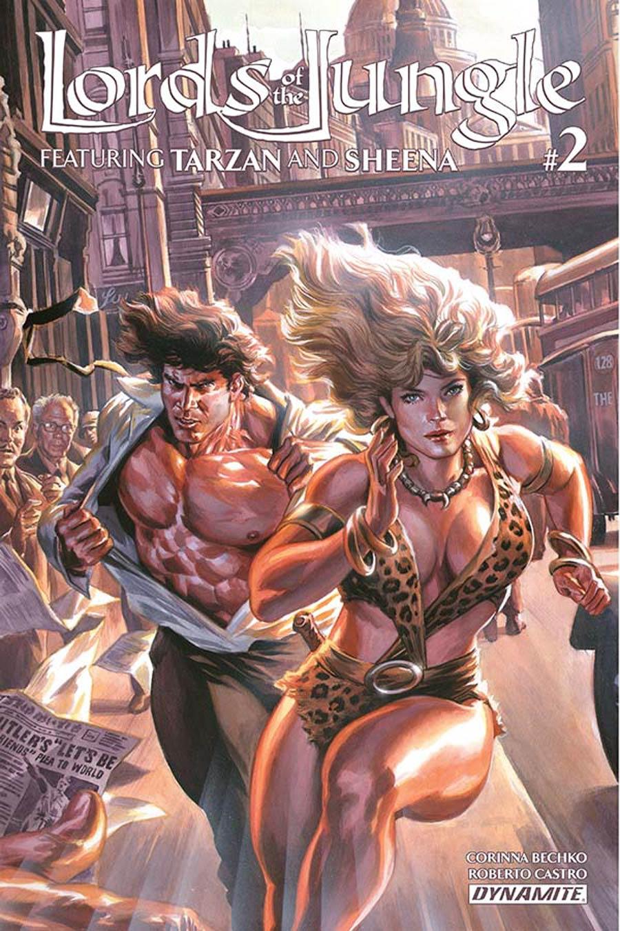 Lords Of The Jungle #2 Cover A Regular Felipe Massafera Cover
