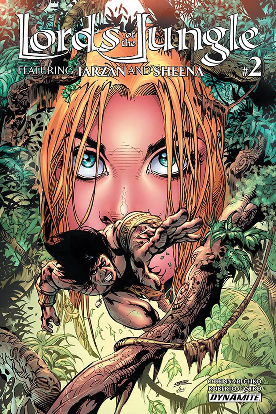 Lords Of The Jungle #2 Cover B Variant Roberto Castro Cover