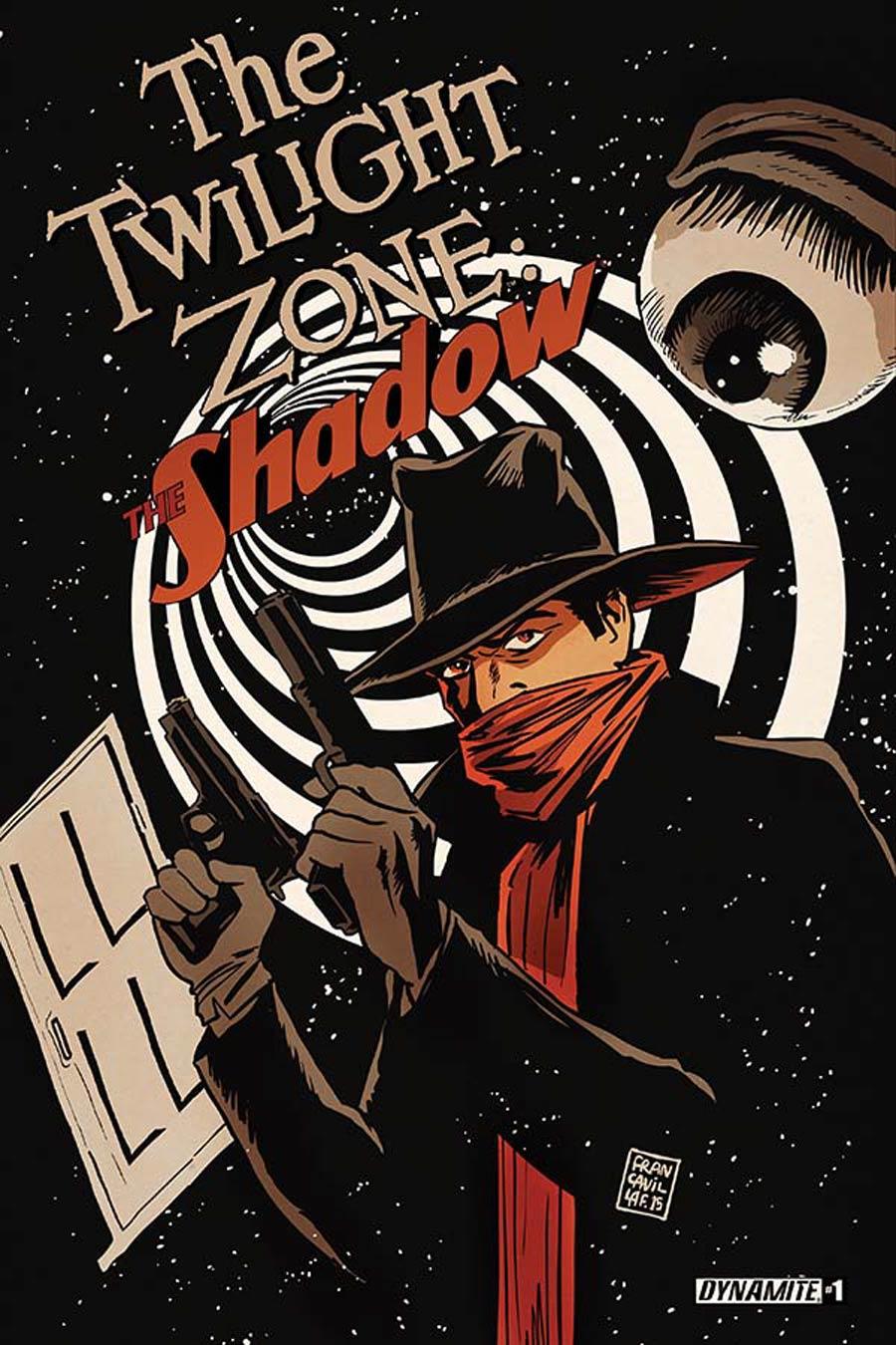 Twilight Zone Shadow #1 Cover A Regular Francesco Francavilla Cover