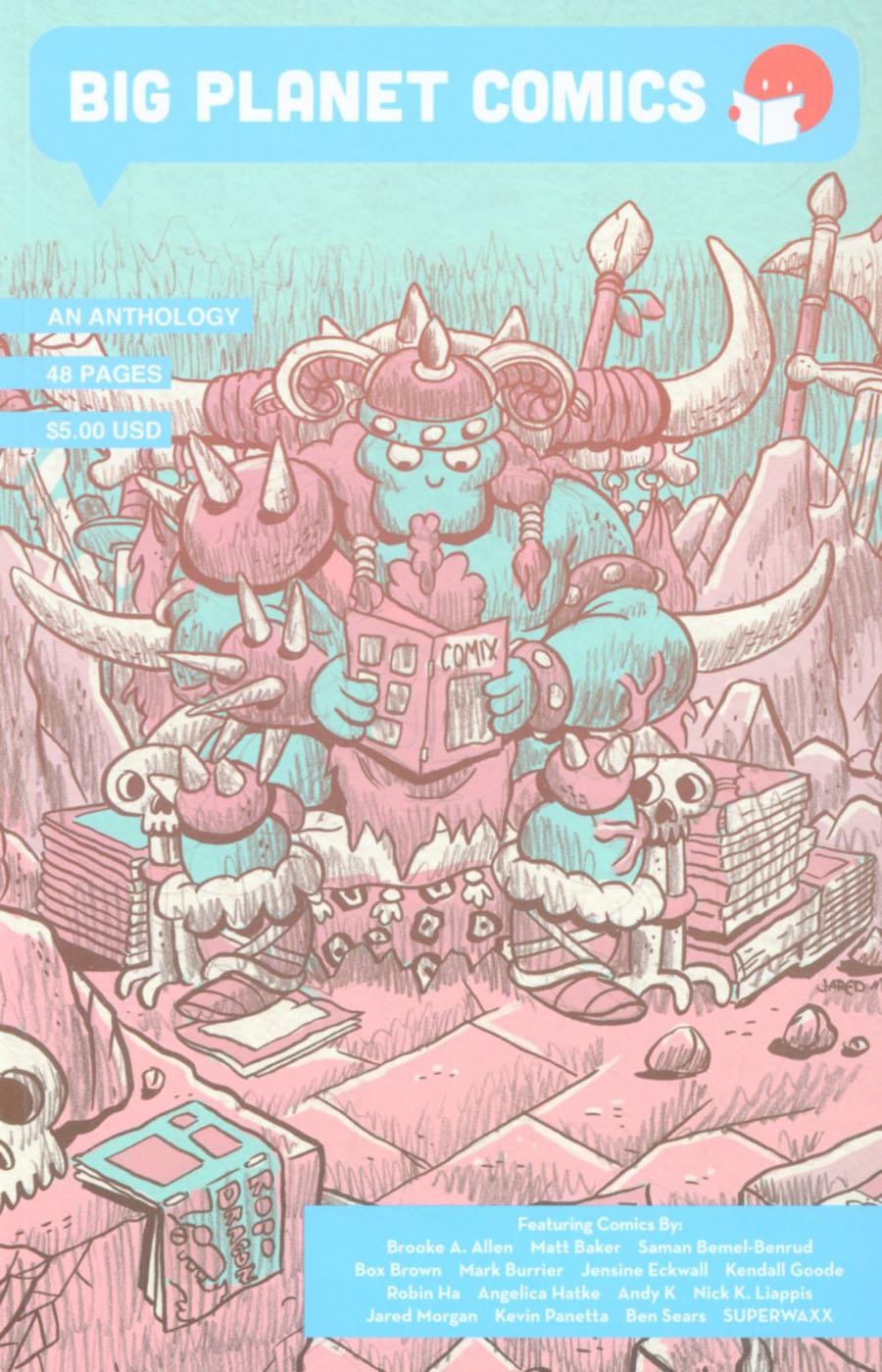 Big Planet Comics An Anthology GN