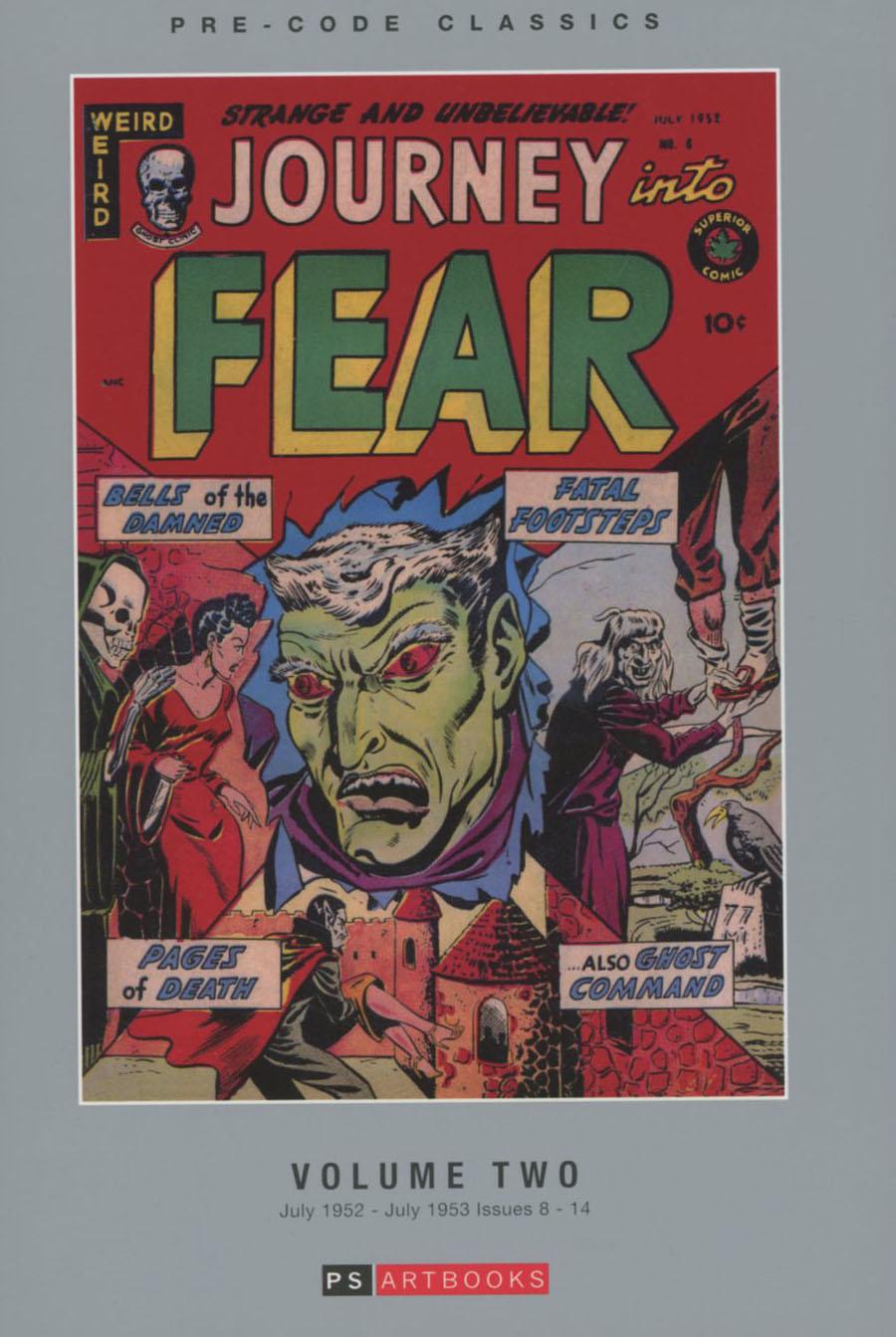 Pre-Code Classics Journey Into Fear Vol 2 HC