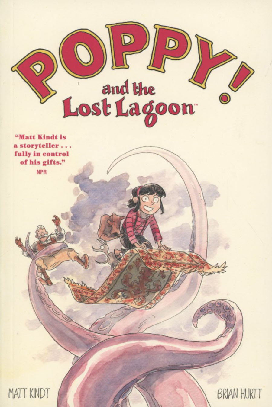 Poppy Vol 1 Poppy And The Lost Lagoon TP