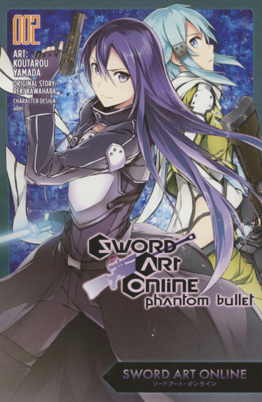 Sword Art Online Phantom Bullet Vol 2 GN