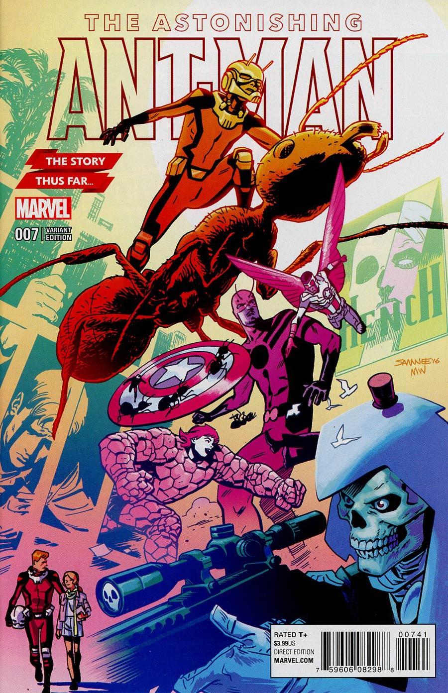 Astonishing Ant-Man #7 Cover C Variant Chris Samnee Story Thus Far Cover