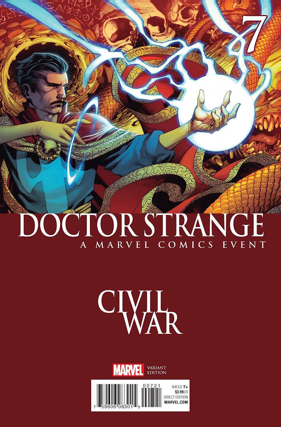 Doctor Strange Vol 4 #7 Cover B Variant Civil War Cover