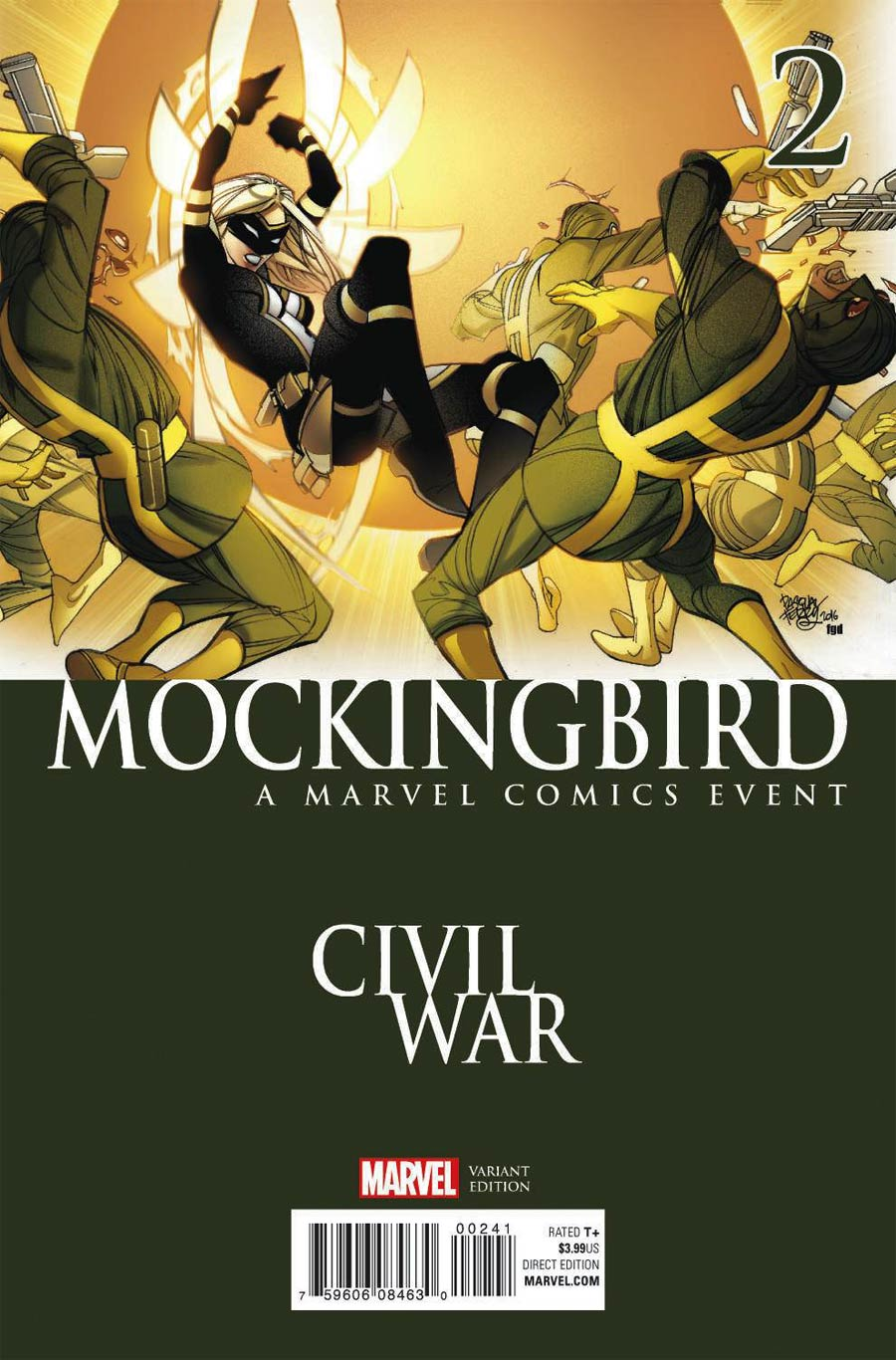 Mockingbird #2 Cover B Variant Civil War Cover