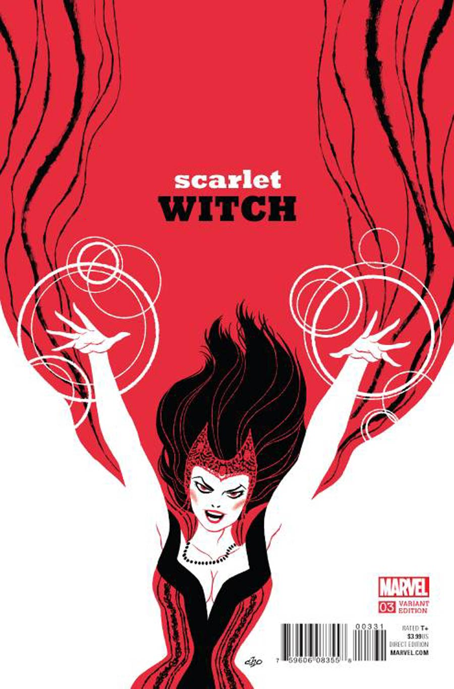 Scarlet Witch Vol 2 #3 Cover B Incentive Michael Cho Variant Cover