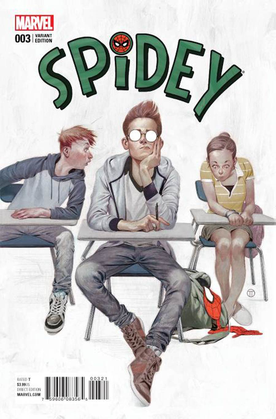 Spidey #3 Cover B Incentive Julian Totino Tedesco Variant Cover