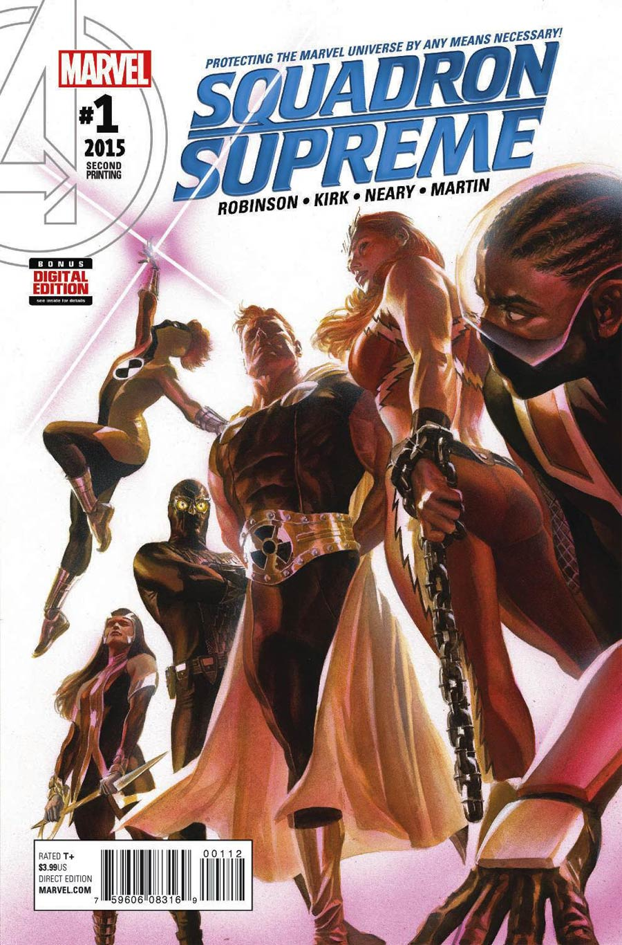 Squadron Supreme Vol 4 #1 Cover E 2nd Ptg Alex Ross Variant Cover