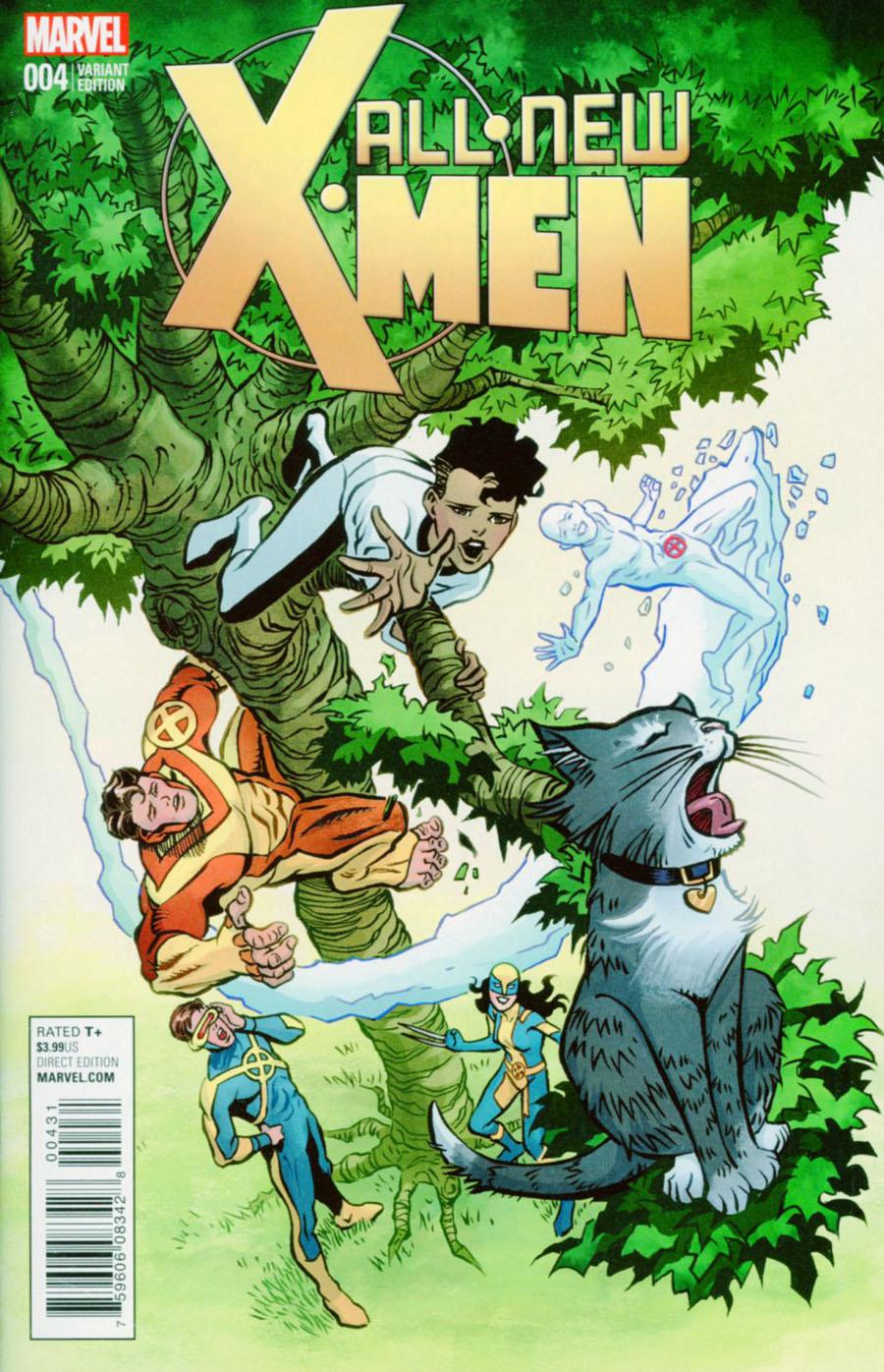 All-New X-Men Vol 2 #4 Cover D Incentive June Brigman Classic Variant Cover