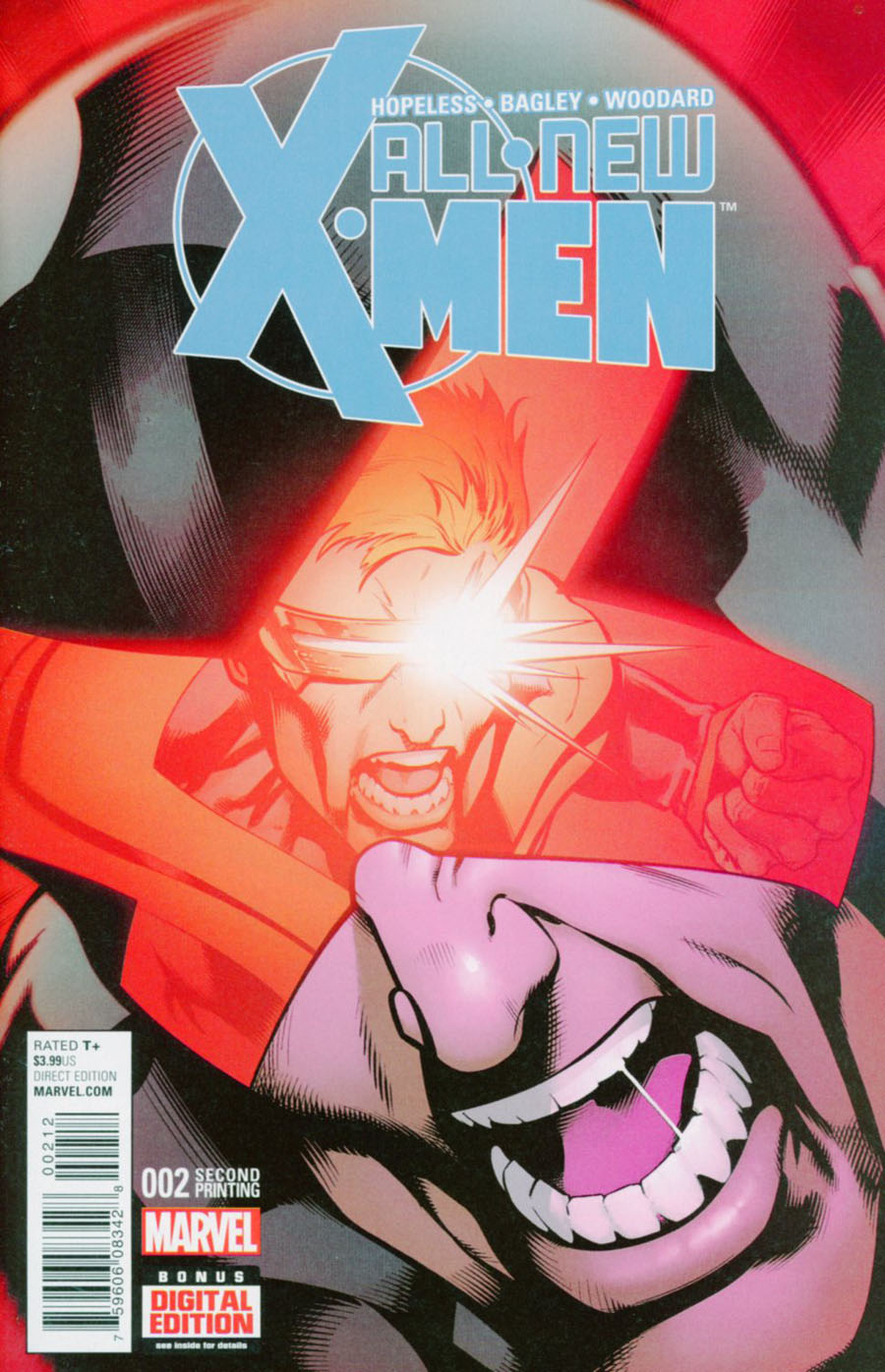 All-New X-Men Vol 2 #2 Cover C 2nd Ptg Mark Bagley Variant Cover