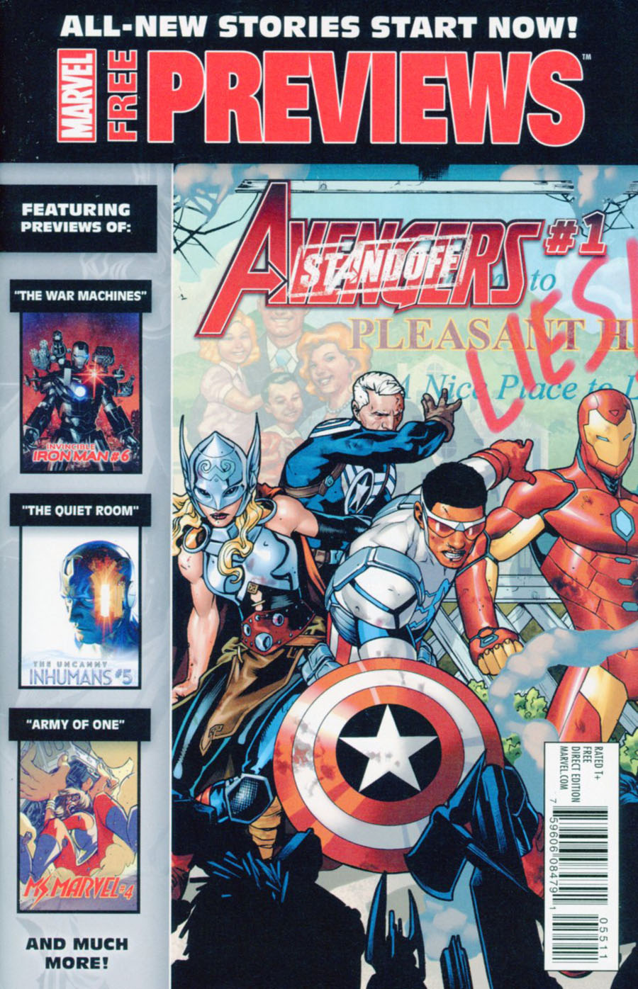 Marvel New Stories Start Now Previews