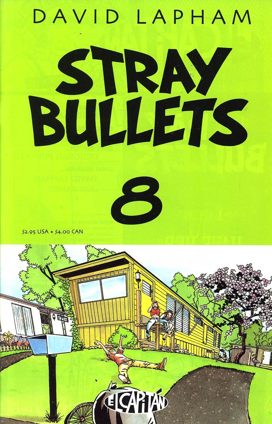 Stray Bullets #8 2nd Printing