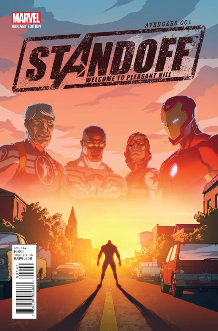 Avengers Standoff Welcome To Pleasant Hill #1 Cover D Incentive Matt Rhodes Variant Cover