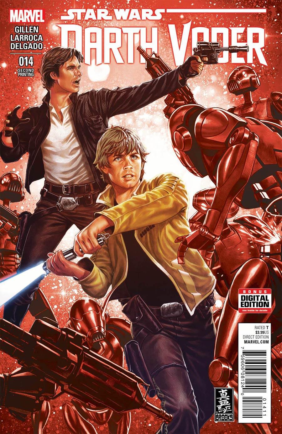 Darth Vader #14 Cover C 2nd Ptg Mark Brooks Variant Cover (Vader Down Part 4)