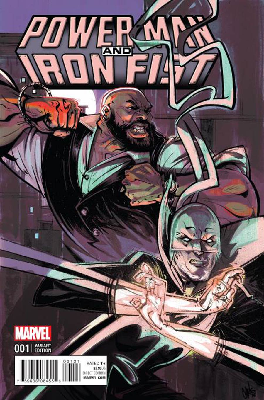 Power Man And Iron Fist Vol 3 #1 Cover G Incentive Chris Visions Variant Cover