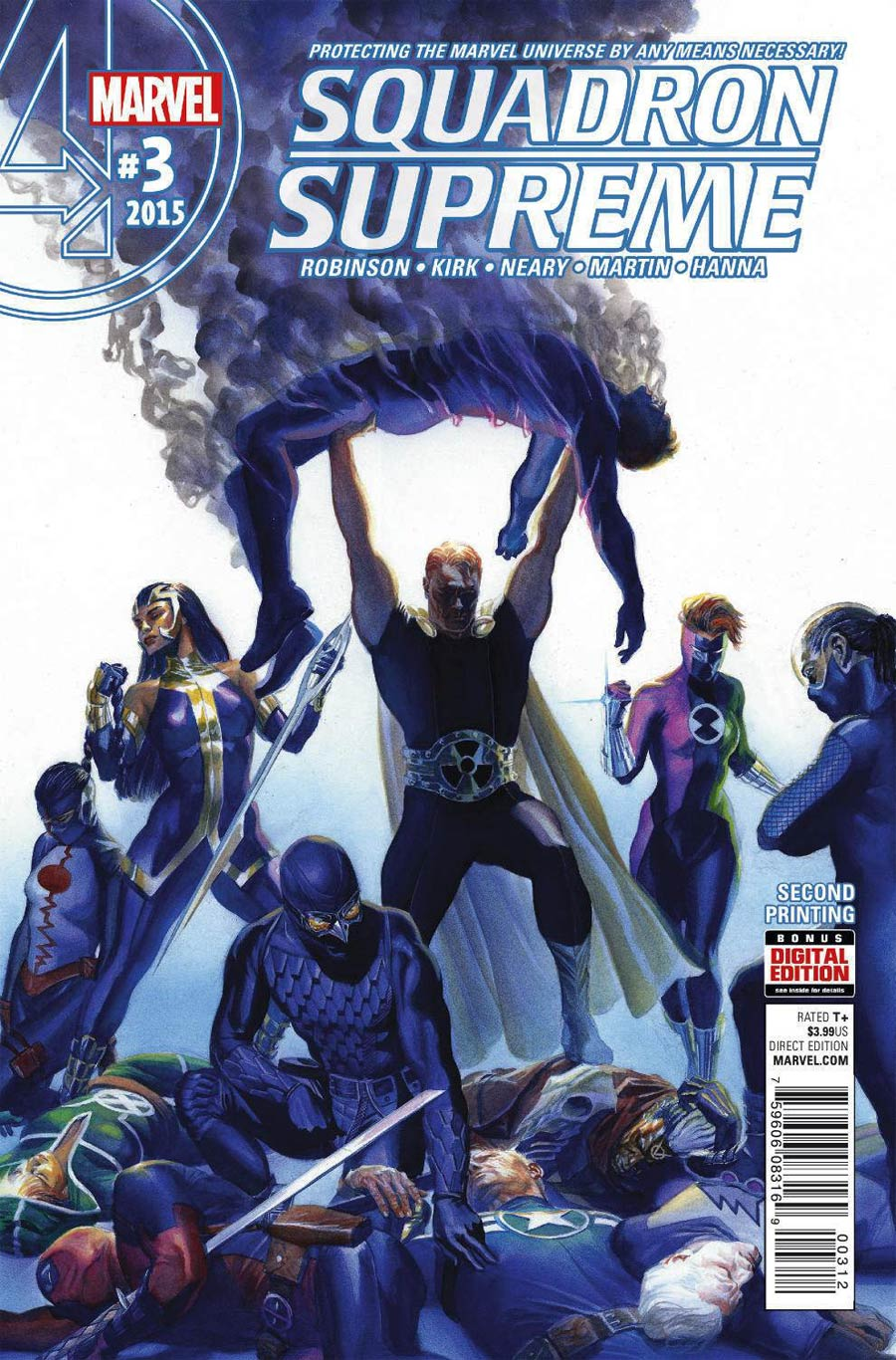 Squadron Supreme Vol 4 #3 Cover C 2nd Ptg Alex Ross Variant Cover