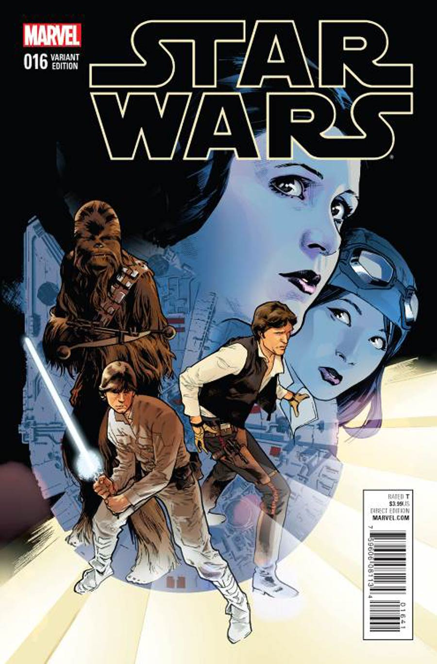 Star Wars Vol 4 #16 Cover C Incentive Stuart Immonen Variant Cover