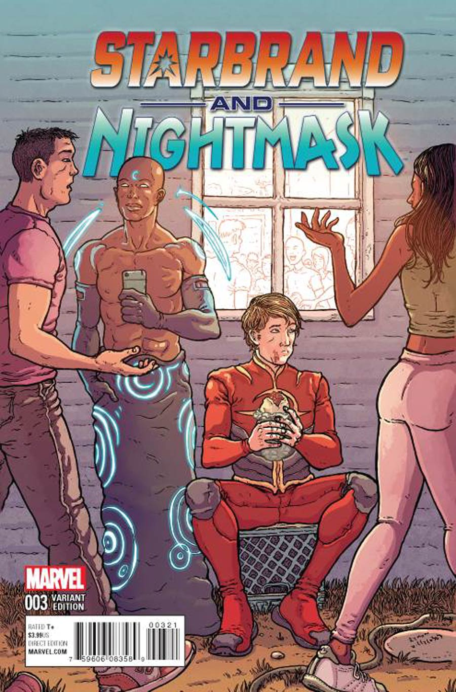Starbrand And Nightmask #3 Cover B Incentive Ramon Villalobos Variant Cover