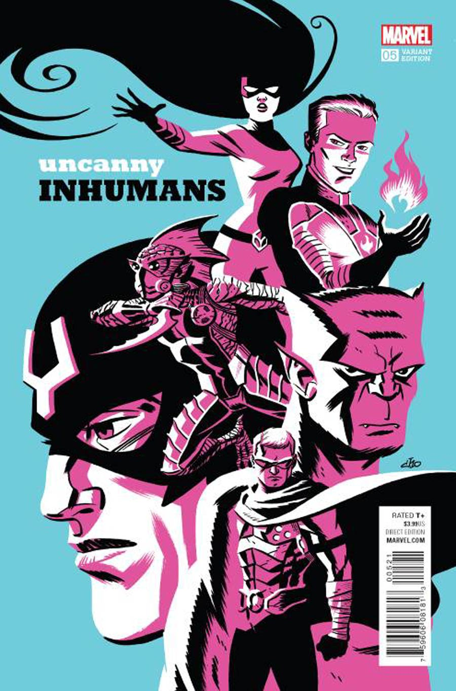 Uncanny Inhumans #5 Cover D Incentive Michael Cho Variant Cover