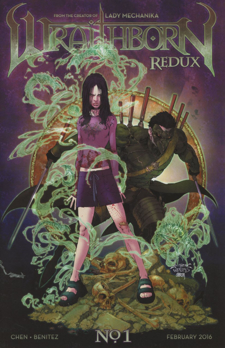 Wraithborn Redux #1 Cover A Regular Joe Benitez & Joe Weems Cover