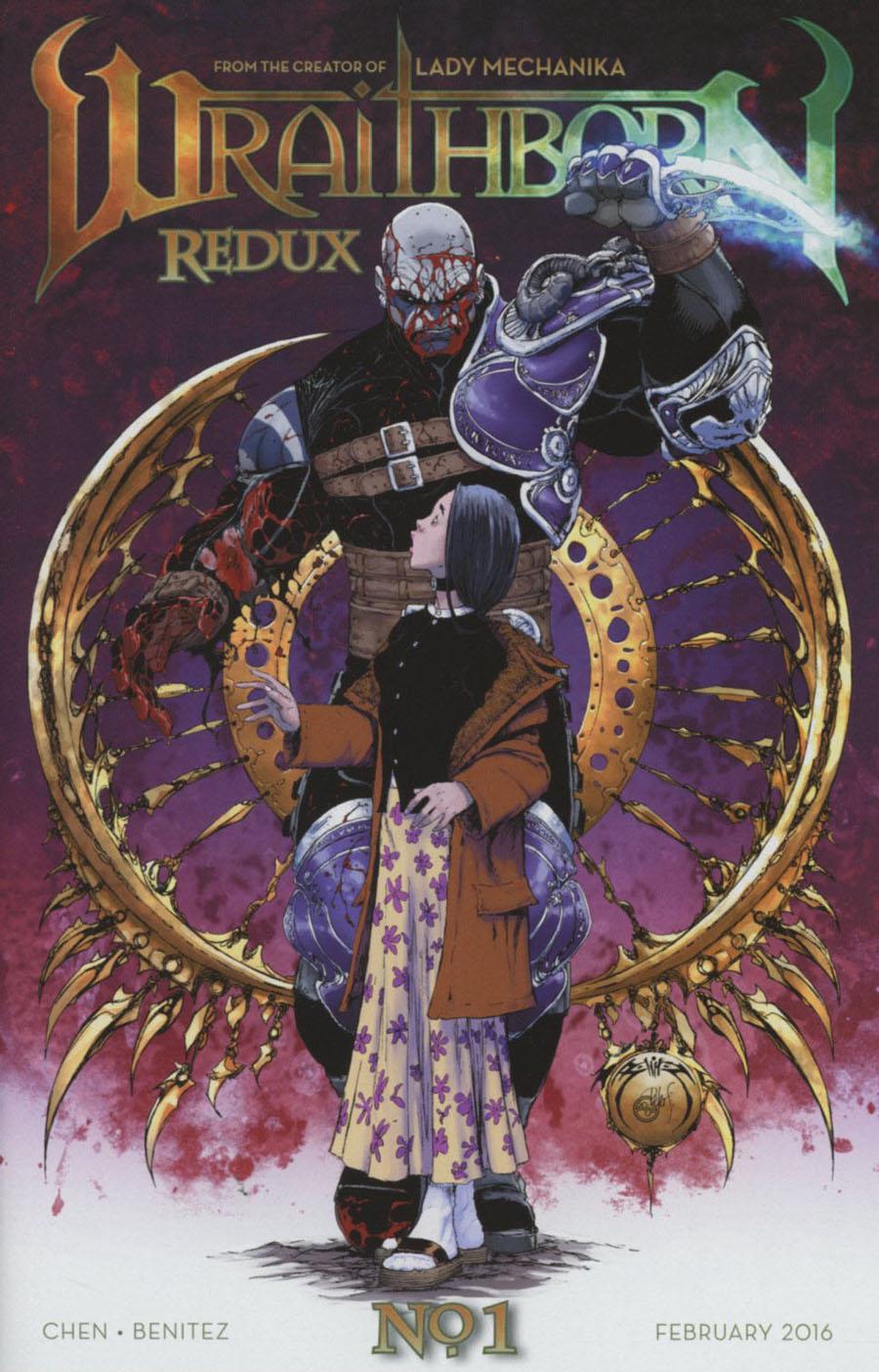 Wraithborn Redux #1 Cover B Regular Joe Benitez & Peter Steigerwald Cover