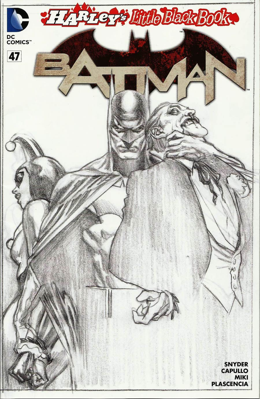 Batman Vol 2 #47 Cover E Variant Alex Ross Harley Quinn Cover Without Polybag Sketch