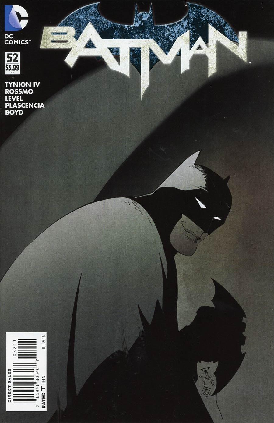 Batman Vol 2 #52 Cover A Regular Greg Capullo Cover