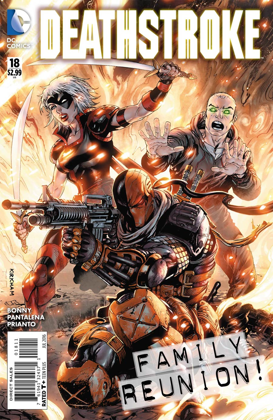 Deathstroke Vol 3 #18