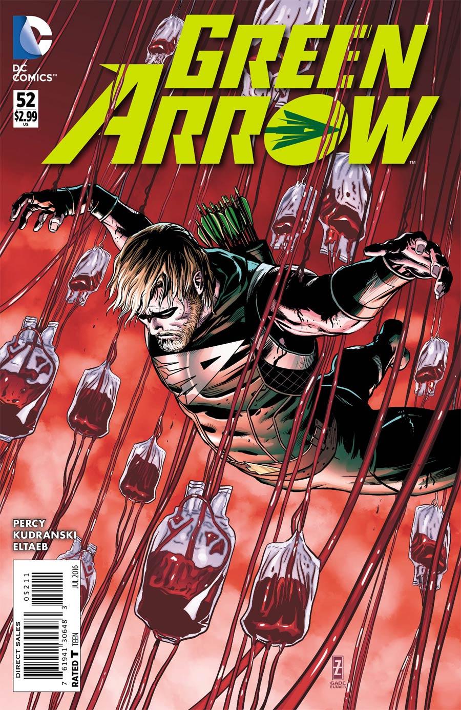 Green Arrow Vol 6 #52 Cover A Regular Patrick Zircher Cover
