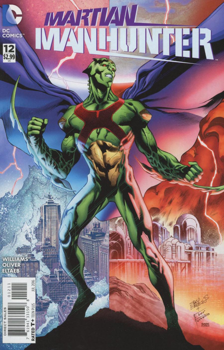 Martian Manhunter Vol 4 #12