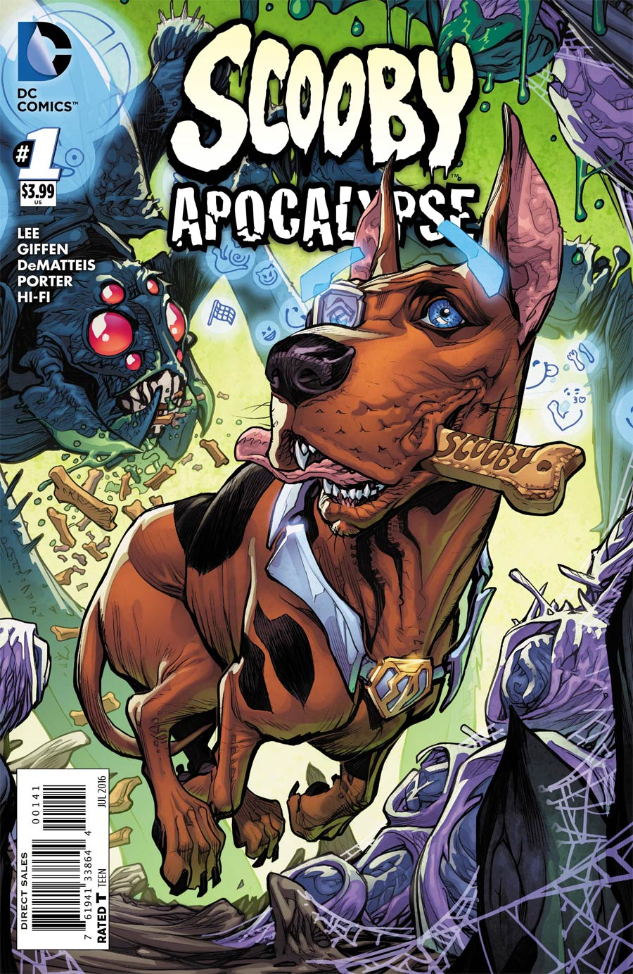Scooby Apocalypse #1 Cover D Variant Howard Porter Scooby-Doo Cover