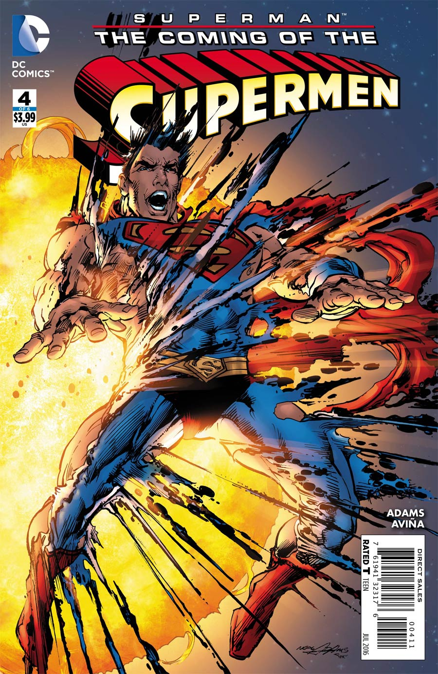 Superman The Coming Of The Supermen #4