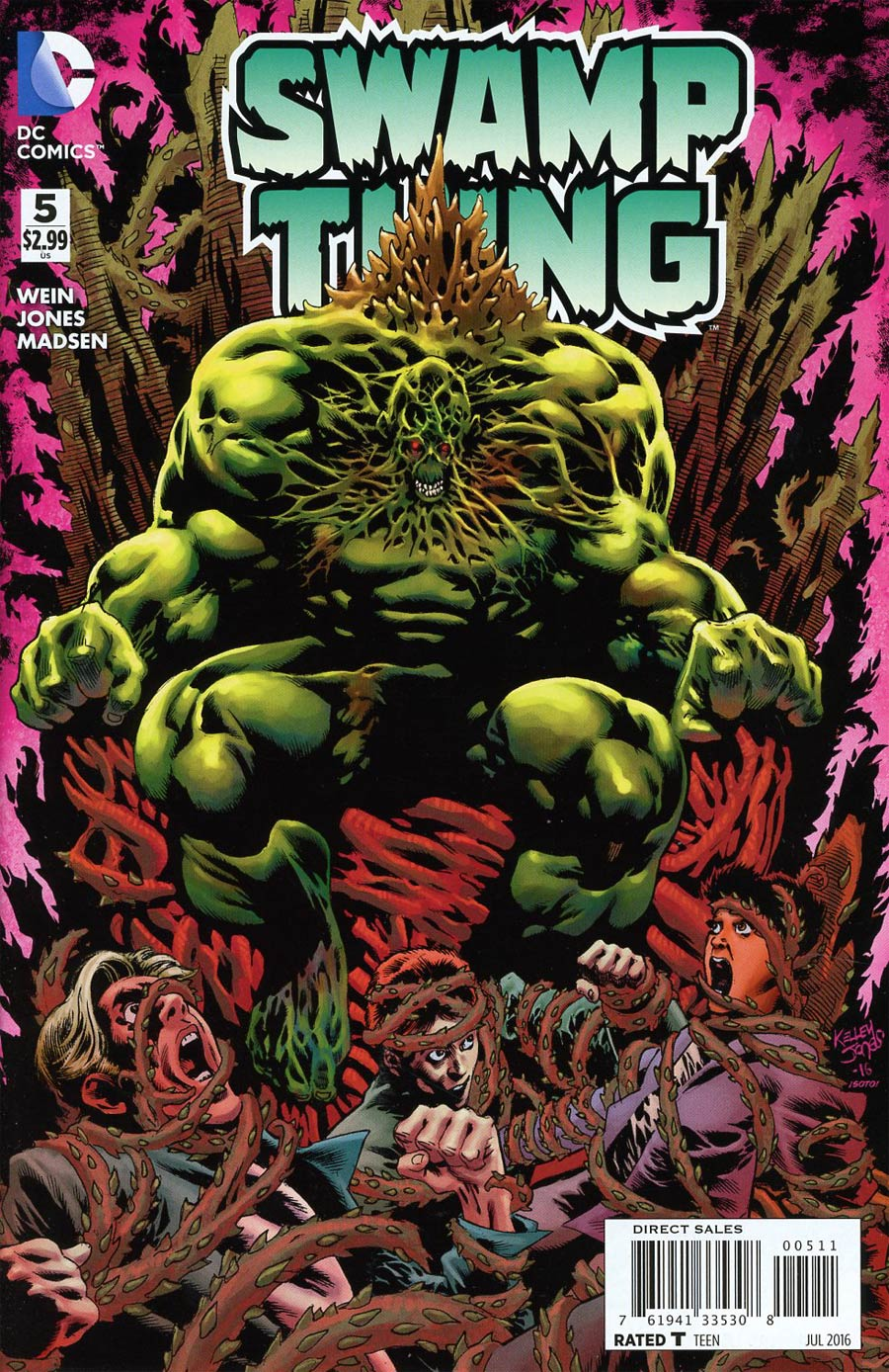 Swamp Thing Vol 6 #5