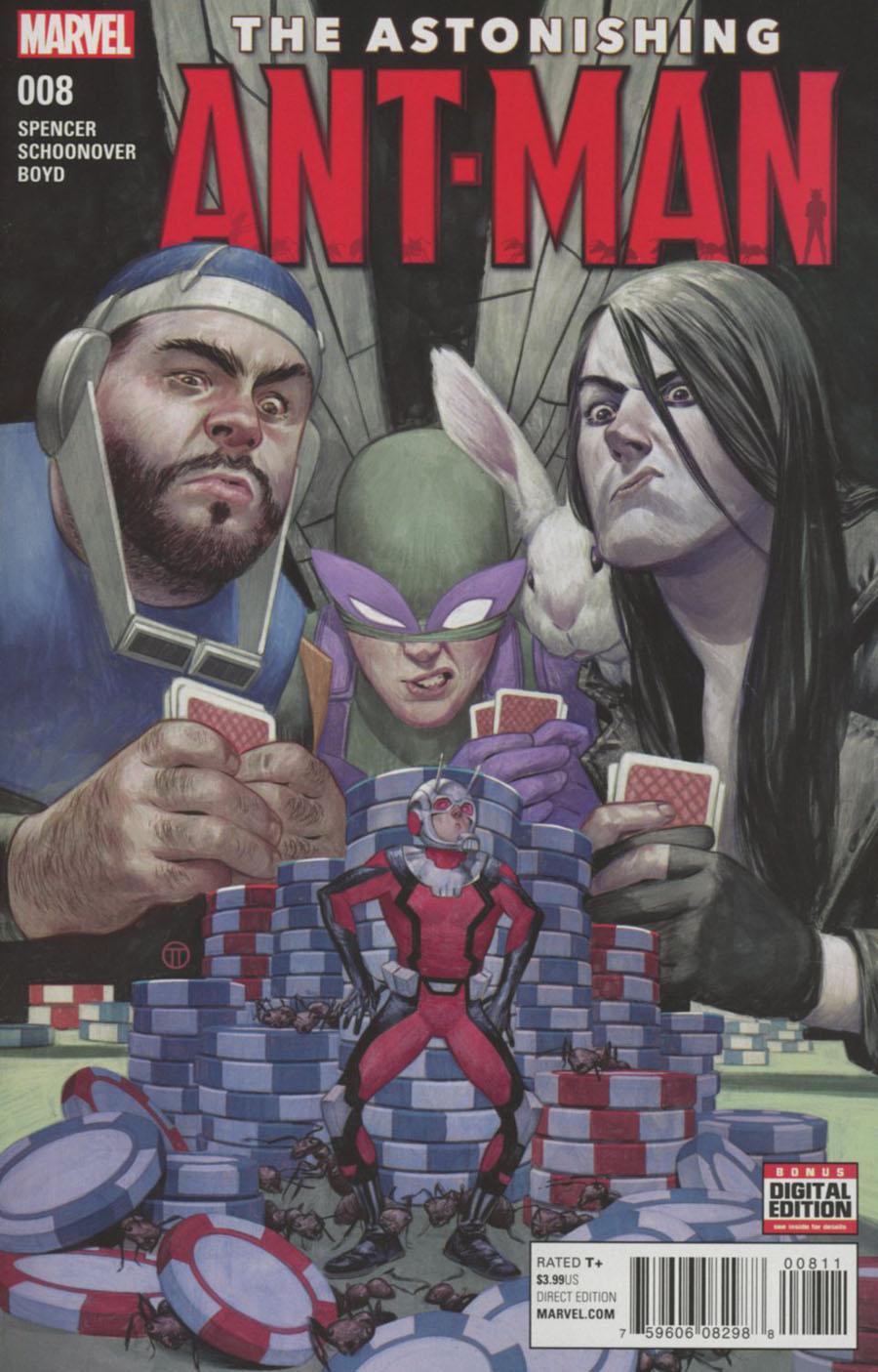 Astonishing Ant-Man #8 Cover A Regular Julian Totino Tedesco Cover