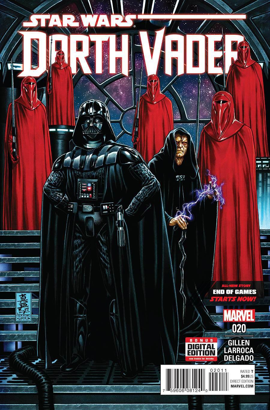 Darth Vader #20 Cover A 1st Ptg Regular Mark Brooks Cover