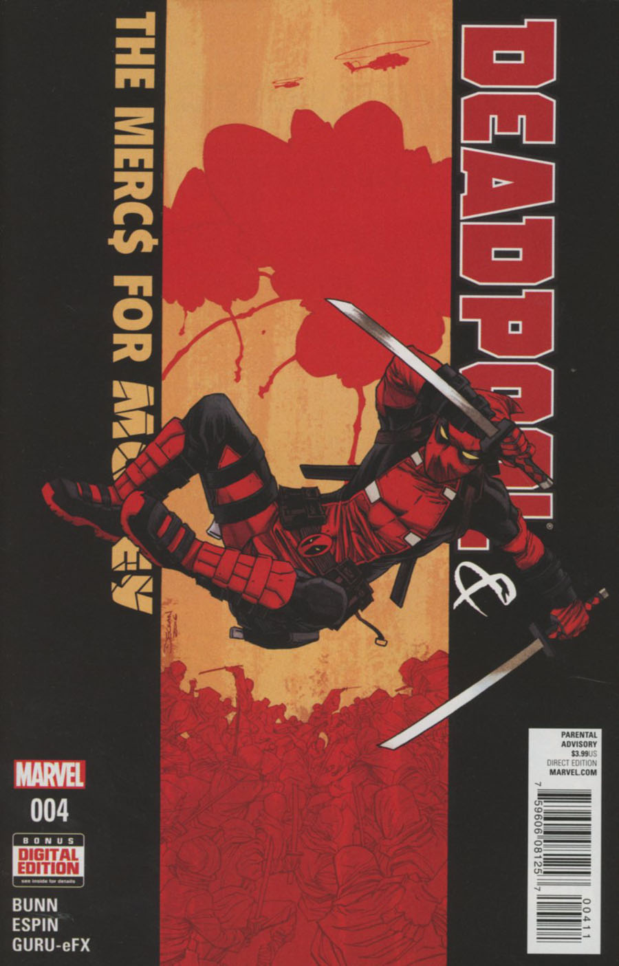 Deadpool And The Mercs For Money #4 Cover A Regular Declan Shalvey Cover