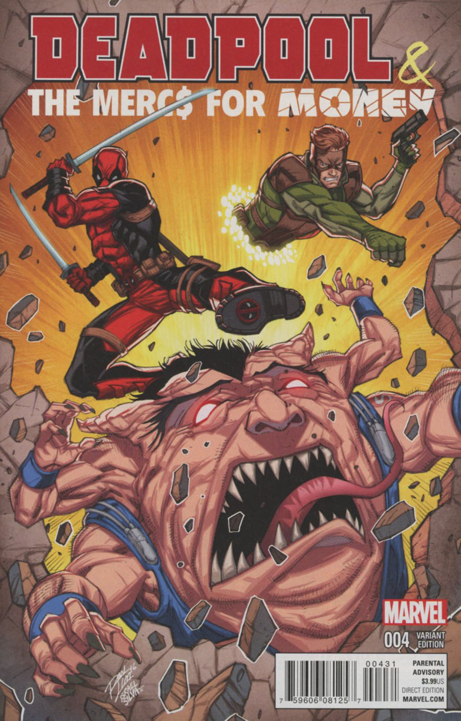 Deadpool And The Mercs For Money #4 Cover B Variant Ron Lim Cover
