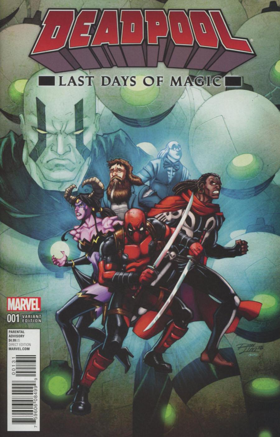 Deadpool Last Days Of Magic #1 Cover C Variant Ron Lim Cover