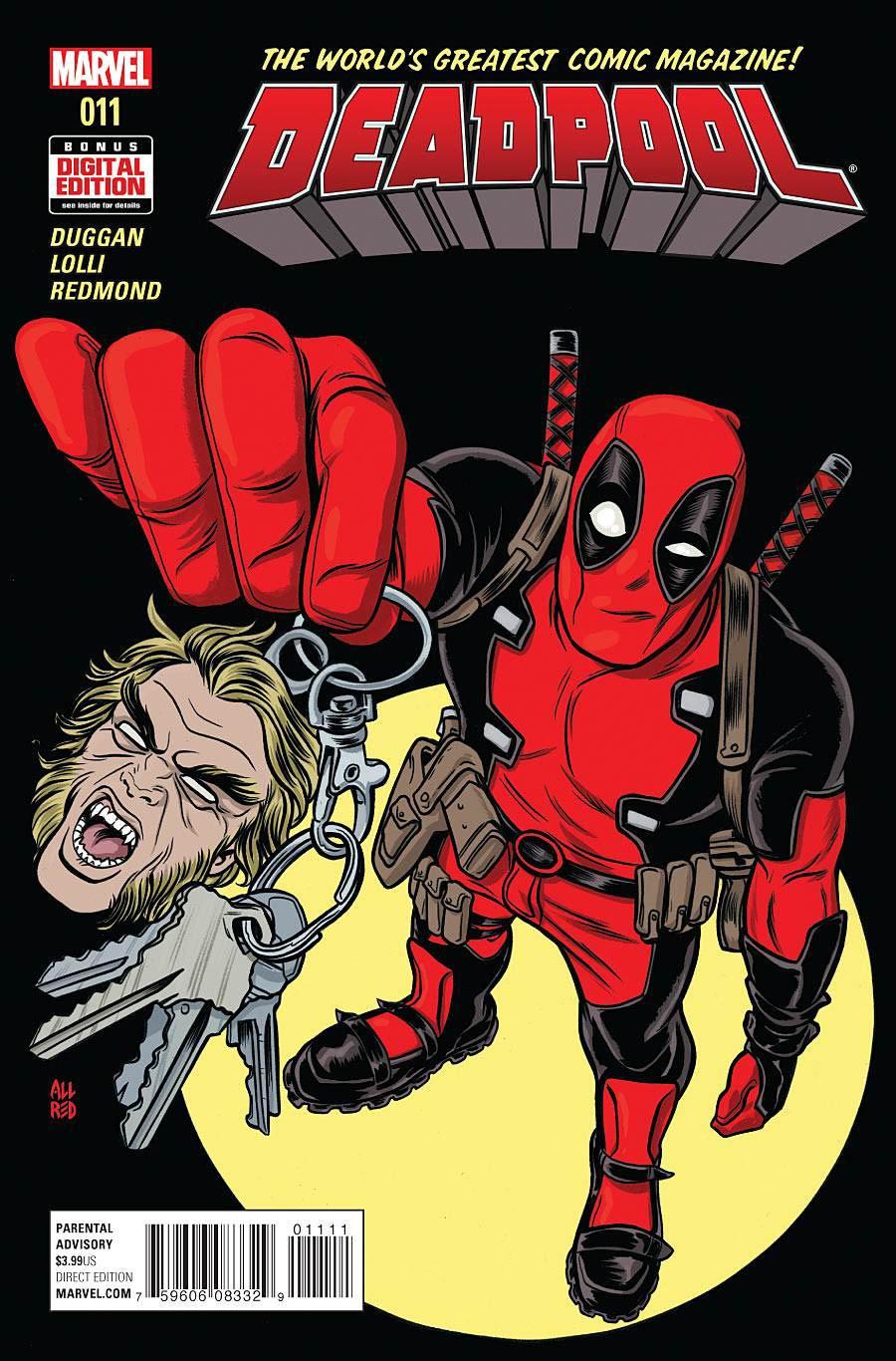 Deadpool Vol 5 #11 Cover A Regular Michael Allred Cover