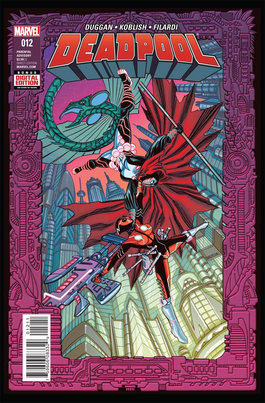 Deadpool Vol 5 #12 Cover A Regular Scott Koblish Cover