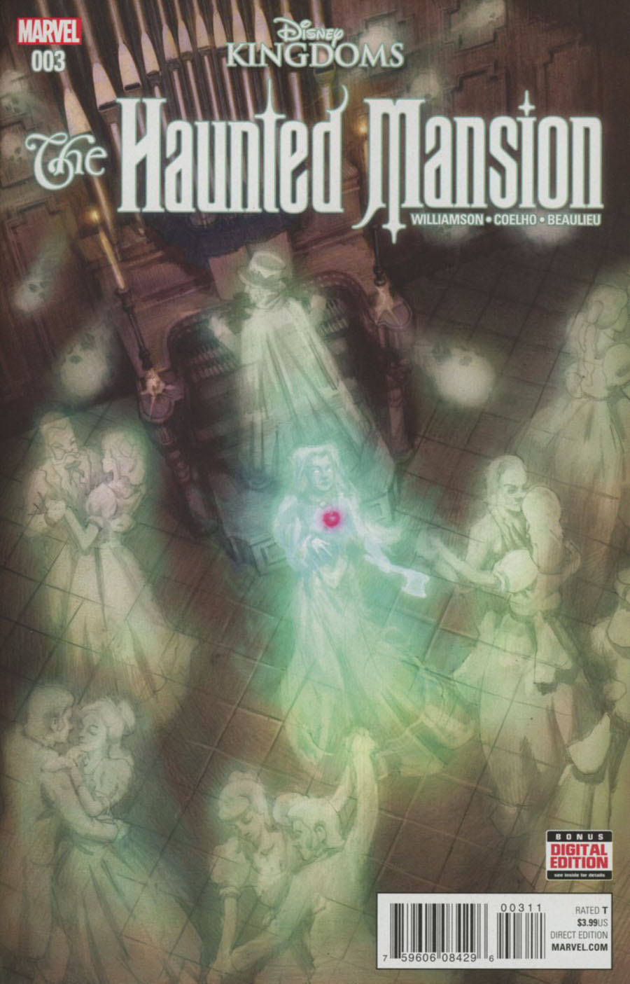 Disney Kingdoms Haunted Mansion #3 Cover A 1st Ptg Regular EM Gist Cover