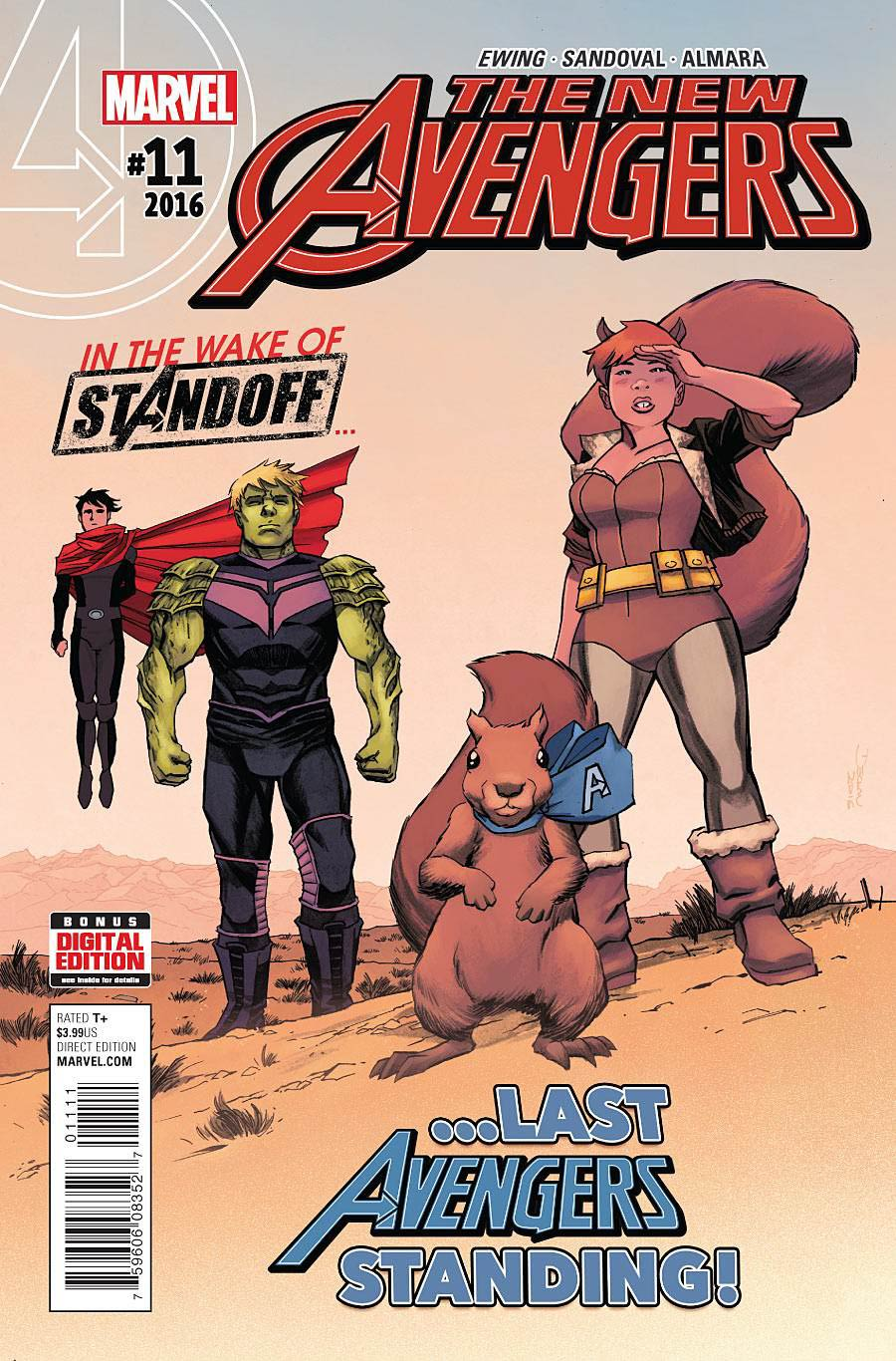 New Avengers Vol 4 #11