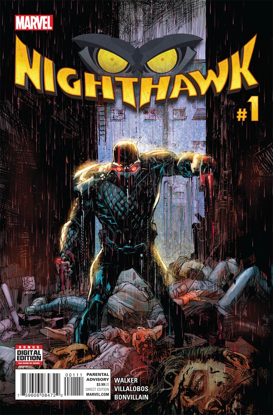 Nighthawk Vol 2 #1 Cover A Regular Denys Cowan & Bill Sienkiewicz Cover